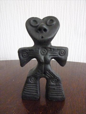 ミニハート土偶