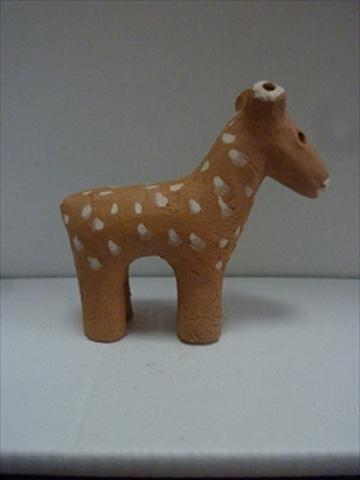 鹿埴輪ミニ2号