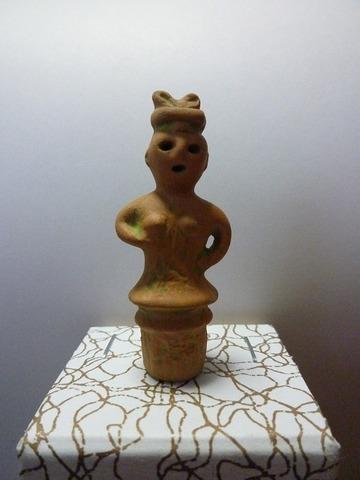 豆埴輪 巫女