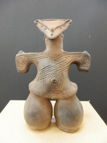 仮面土偶特中 重要文化財