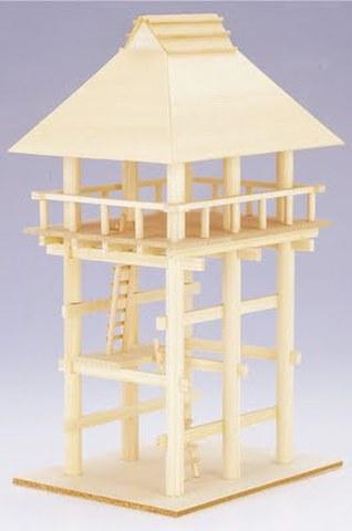 物見櫓組み立てセット