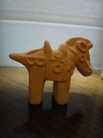 ミニ馬埴輪
