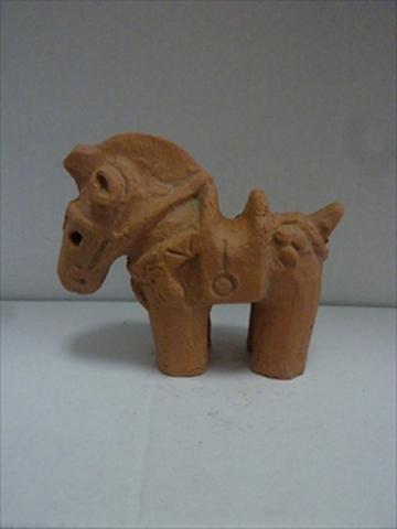 馬埴輪ミニ2号