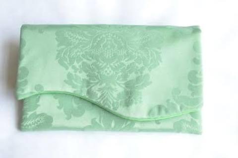 お財布のお布団【グリーン】