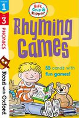 Read With Biff, Chip, and Kipper stage1-3 : Rhyming Games Flashcards