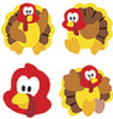 Turkey Time Stickers