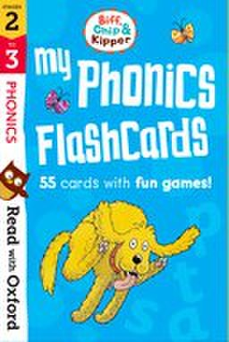 Read With Biff, Chip, and Kipper stage2-4 : My Phonics Flashcards