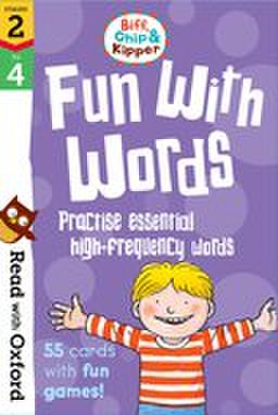 Read With Biff, Chip, and Kipper stage2-4 : Fun With Words Flashcards
