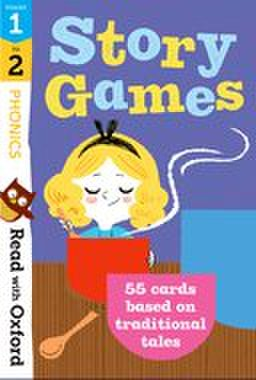 Traditional Tales stage1-2: Story Games flashcards