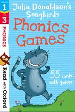Songbirds Phonics stage1-3: Phonics Games flashcards