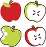 Tasty Apples Stickers