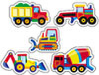 Constraction Vehicles Stickers