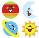 Sky Smiles Stickers