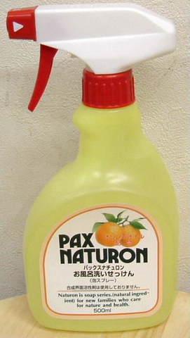 太陽油脂 パックスナチュロンお風呂洗いせっけん 500ml