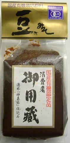 ヤマキ醸造  有機豆味噌  500g