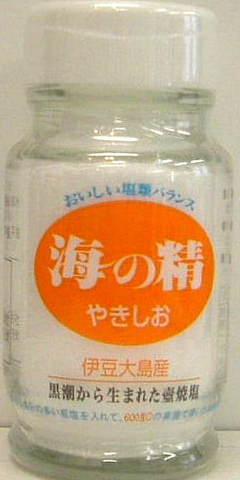 海の精  海の精やきしお(瓶)  60g