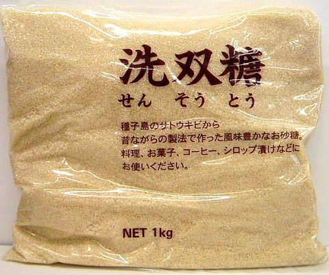 ビオマーケット 洗双糖(粗精糖)  1kg