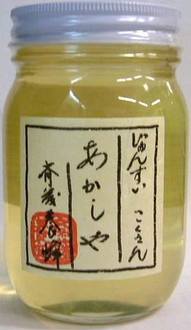斎藤養蜂 アカシヤ蜜(国産純粋蜂蜜) 500g