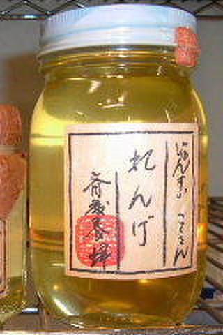 斎藤養蜂 れんげ蜜(国産純粋蜂蜜) 500g