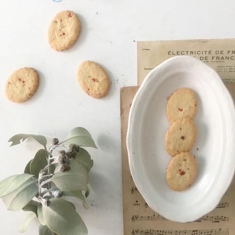 有機バニラと無農薬ピンクペッパーのクッキー