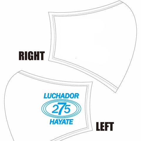 【水着素材マスク】HAYATEロゴ