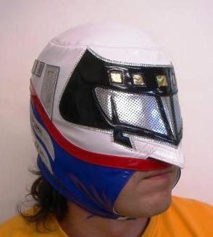 ミゲル・アンヘル製はやてマスク(使用済み)ポートレート付き