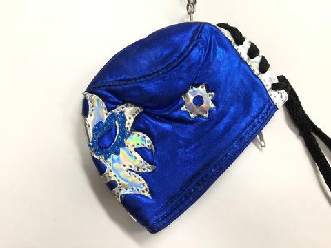 マスク型コインケース 〔ソラール青〕
