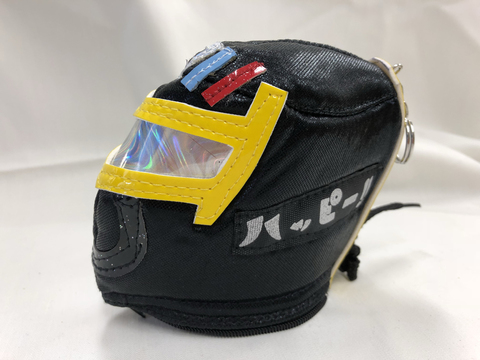 マスク型コインケース ハッピーロードマン・ダーク