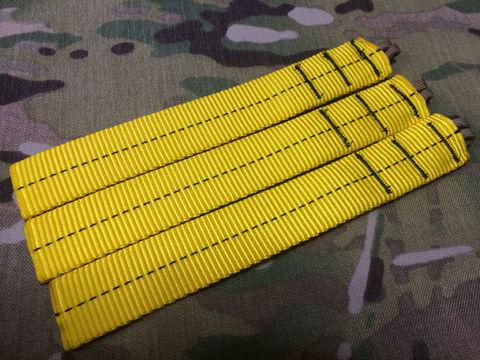 AWS風黄色い紐縫い目BK