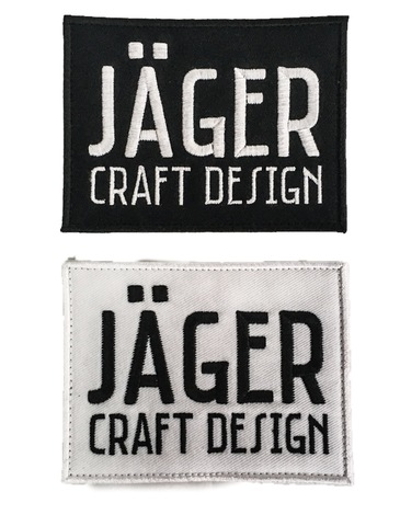 Jäger craft design original patch