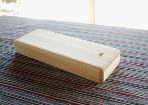 木の筆箱 セン