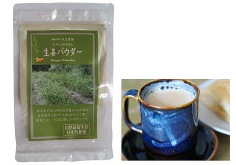 自然栽培生姜100%生姜パウダー(20g)