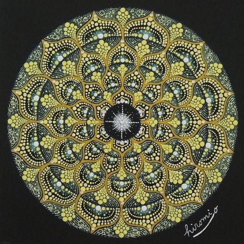 点描曼荼羅「あなたが持って生まれてきたもの」