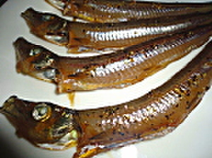 黒胡椒醤油タレメギス <280~300g/8~12匹入り>