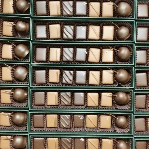 ボンボンショコラ箱7個入り:完売