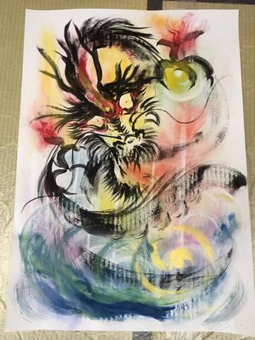 内なる龍の肖像画