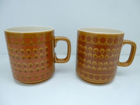 ホーンジーサフラン マグカップ2個セット