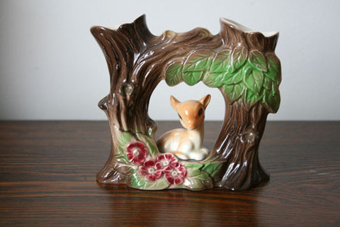 ホーンジー ファウナ(Fauna) バンビの環状花器