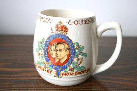 1937年ジョージ6世戴冠記念マグカップ