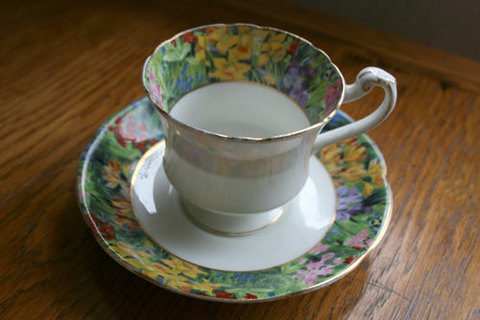 1930年代Paragon社製 ティーカップ&ソーサー