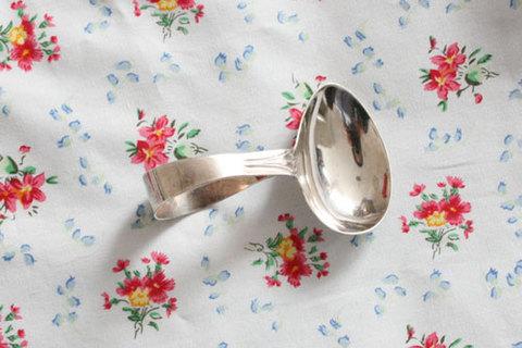 1860年 純銀製 ベビースプーン