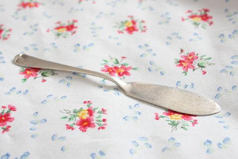 1916年 シェフィールド・純銀製 バターナイフ