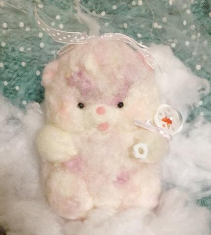 milky toy bear