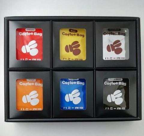コーヒーバッグ6種類 36枚箱入りギフト