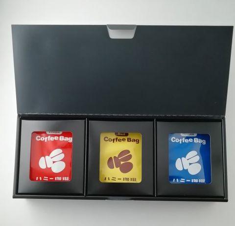 コーヒーバッグ6種18枚 箱入りギフト