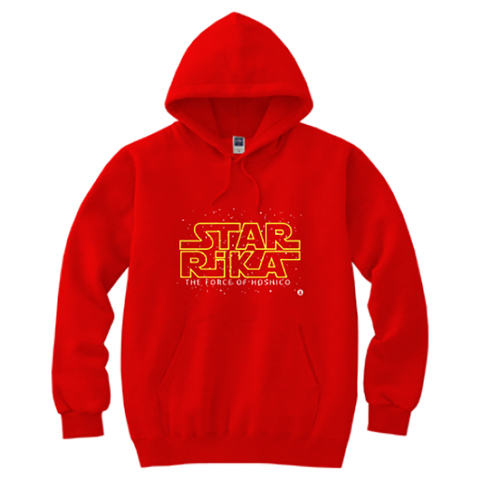 【Limited Edition】HOSHICO / THE FORCE OF HOSHICO Hooded Sweatshirt Red