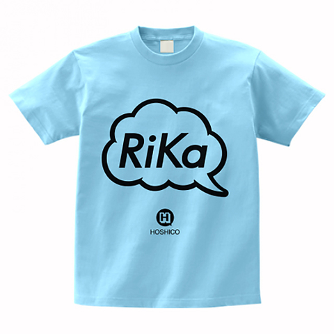 HOSHICO / Rika in Balloon T-shirt Light-Blue