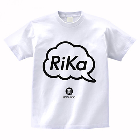 HOSHICO / Rika in Balloon T-shirt White