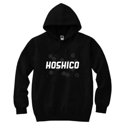 HOSHICO / HOSHICO Logo Hooded Sweatshirt Black