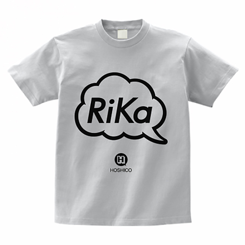 HOSHICO / Rika in Balloon T-shirt Ash-Gray